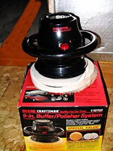 Amazon.com: Sears Craftsman 9-in. Buffer/Polisher System