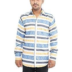 Oshano Men's Simple Cotton Shirt