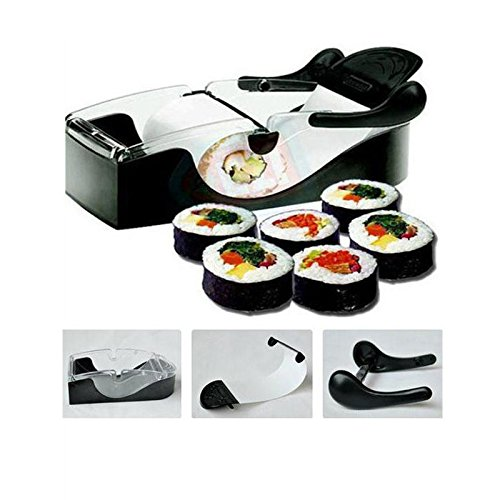 Perfect DIY Roller Machine Roll Sushi Maker Easy Kitchen Magic Gadget Cooking Tools Curtain Bento Ac