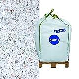 Marmorsplitt Carrara 5-8 mm 500 kg Big Bag