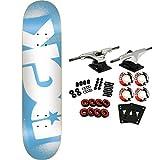 DGK Skateboard Complete Stencil Blue 7.75