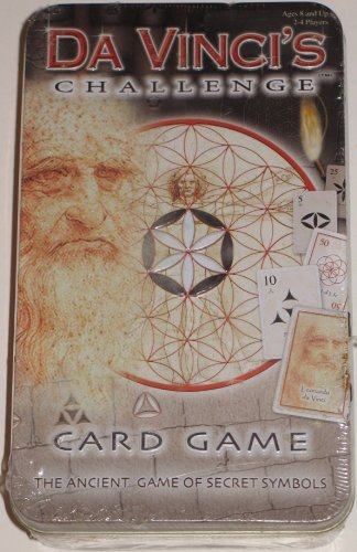 DaVinci's Challenge Card Game: The Anceint Game of Secret Symbols (Tin) - 1