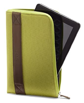 """Amazon Kindle Fire HDX 7"""" Zip Sleeve, Lime (fits the Kindle Fire HD and HDX 7"""")"""
