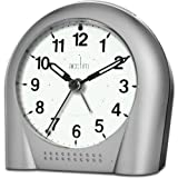 Sweeper Alarm Clock Silver