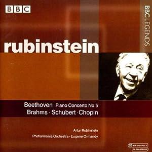 ベートーヴェン:ピアノ協奏曲第5番/シューベルト:即興曲集/ショパン:ポロネーズ第6番「英雄ポロネーズ」(ルービンシュタイン)(1958, 1963)