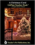 img - for A Christmas Carol LitPlan - A Novel Unit Teacher Guide With Daily Lesson Plans (Litplans on CD) book / textbook / text book