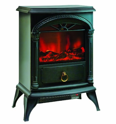 Comfort Zone® Electric ?Stove Style? Fireplace Heater CZFP4 photo