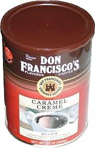 Don Francisco Coffee, Caramel Creme Medium, 12-Ounce from F. Gavina & Sons, Inc.