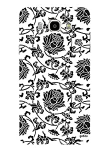 Gobzu Printed Hard Case Back Cover for Samsung J7 2016 - Design_09