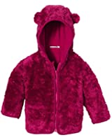 Playshoes Baby Fleece Hoody with Funny Animal Ears Jacket
