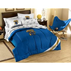 NCAA Kentucky Wildcats Full Bed in a Bag with Applique Comforter by Northwest