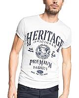 ESPRIT - Regular Fit 085EE2K024 - T-Shirt - Col Ras Du Cou - Manches Courtes - Homme