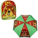 Raa Raa The Noisy Lion Backpack & Umbrella Set