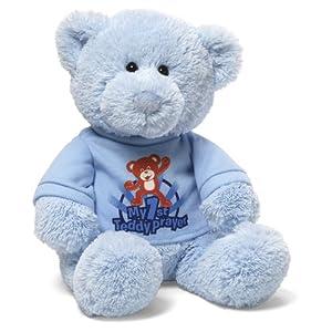 "Gund My 1st Teddy Prayer Blue Bear 12"" Plush by Gund"