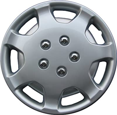 "Drive Accessories KT-863-14S/L, Toyota Camry, 14"" Silver Replica Wheel Cover, (Set of 4)"