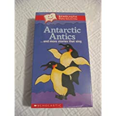 Antarctic Antics Video - VHS (Scholastic Video Collection)