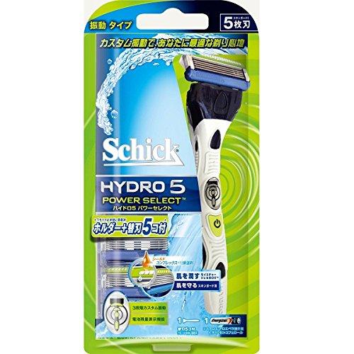 ハイドロ5パワーセレクト コンボパック 替刃5個付