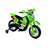 Electronic Ride-On Motorbike With Music And Sound Effects (Green)