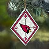 Arizona Cardinals Stained Glass Ornament
