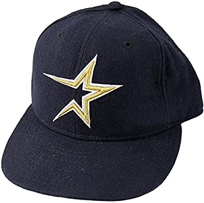 Mike Hampton Autographed Houston Astros Player Worn Cap - Autographed Hats