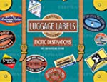 Exotic Destinations Luggage Labels