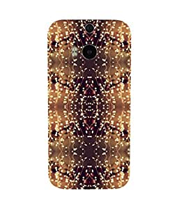 African Motif HTC One M8 Case