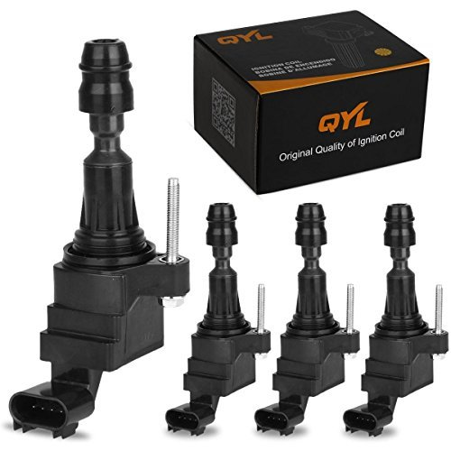 qyl-set-of-4-ignition-coil-for-chevrolet-gmc-pontiac-saturn-saab-cobalt-equinox-malibu-hhr-g5-g6-aur