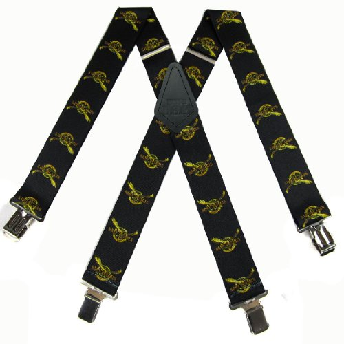 Black - Gold Made In The Us - Navy Seal Suspenders