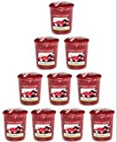 Yankee Candle - 10x Cranberry Ice Votive Samplers