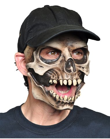 Zagone Studios Men's Monster Gloves or Skull Cap One Size Fits Most Flesh