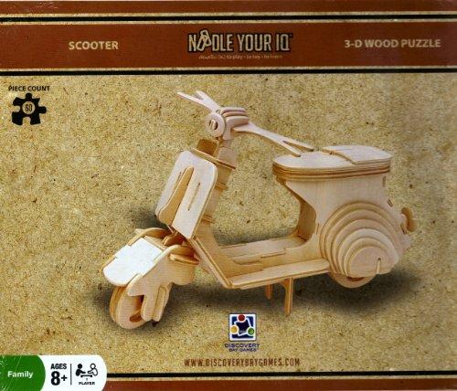 Noodle Your IQ 3D SCOOTER puzzle