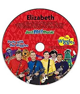 Personalized Just Me CD - Wiggles