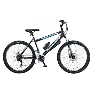 Boss Savage Men's Mountain Bike - Black, 26 Inch