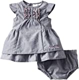 Calvin Klein Baby-girls Newborn Denim Dress with Panty