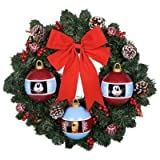 18 Inch Animated Mickey Mouse Holiday Wreath by Gemmy