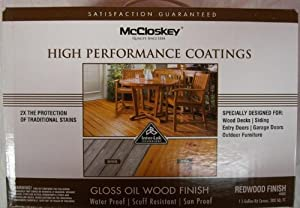 mccloskey wood stain