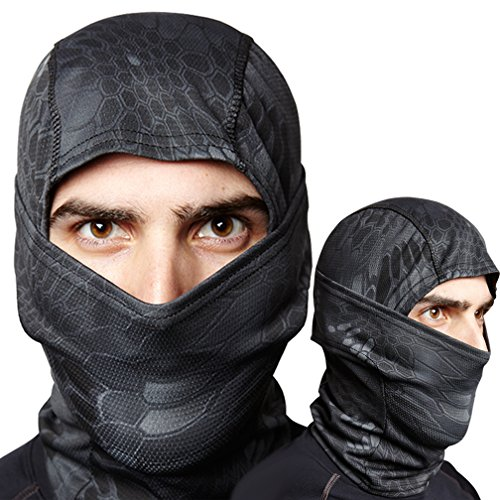 Survival Samurai All Performance Balaclava - Best Sports Mask Fits Under Helmet