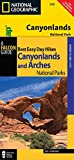 Bill Schneider Best Easy Day Hiking Guide and Trail Map Bundle: Canyonlands National Park (Best Easy Day Hikes Series)