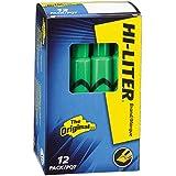 HI-LITER Desk Style, Green, Box of 12 (24020)