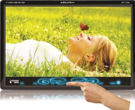 WORLDTECH WT 1188U 11 Inches HD Ready LED TV