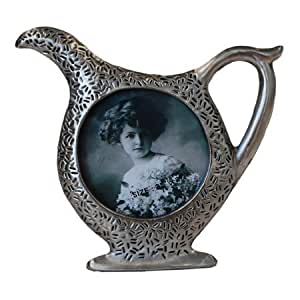 """2.5"""" x 2.5"""" Pitcher Pewter Picture Frame"""
