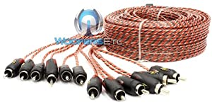 Stinger Pro 3 Series 6 Channel 20 Foot RCA Interconnects