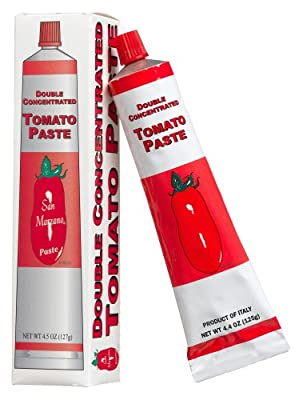 San Marzano, Tomato Paste In Tube, 4.4 oz