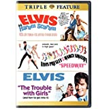 Elvis Triple Feature: Harum Scarum/Speedway/The Trouble With Girls by Warner Home Video