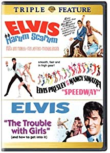 Elvis Triple Feature: Harum Scarum/Speedway/The Trouble With Girls [Import]