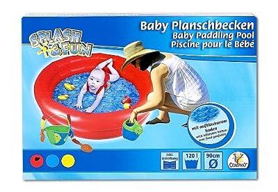 The Toy Company 14190 - Splash Und Fun Babyplanschbecken Mit Aufblasbarem Boden bei aufblasbar.de