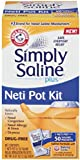 Arm & Hammer Simply Saline Plus Neti Pot Kit