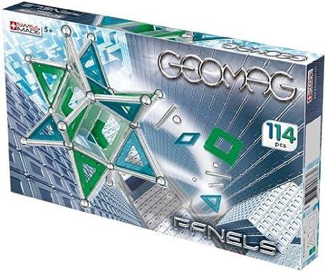 Geomag - 6822 - Jeu de Construction - Kids Panels - 114 Pièces
