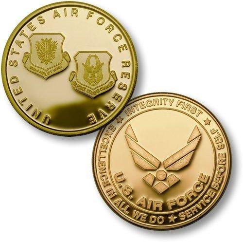 USAF Reserve MerlinGold Challenge Coin