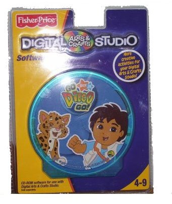 Fisher Price Go Diego Go Digital Arts & Crafts Studio - 1